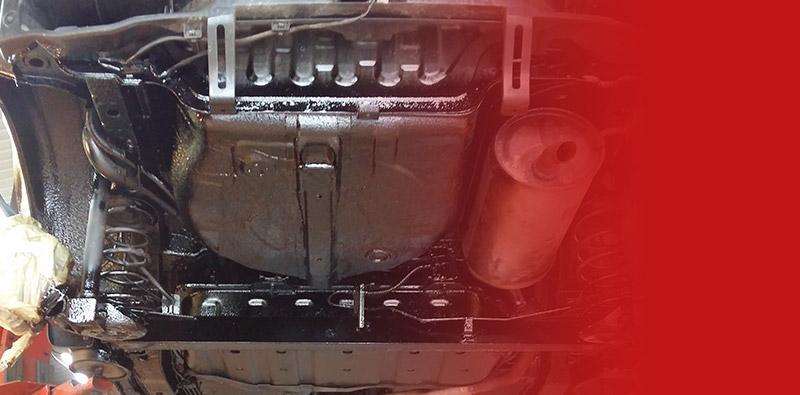 Podwozie samochodu